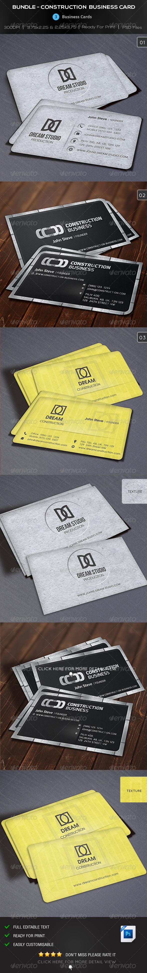 Bundle Construction Business Card