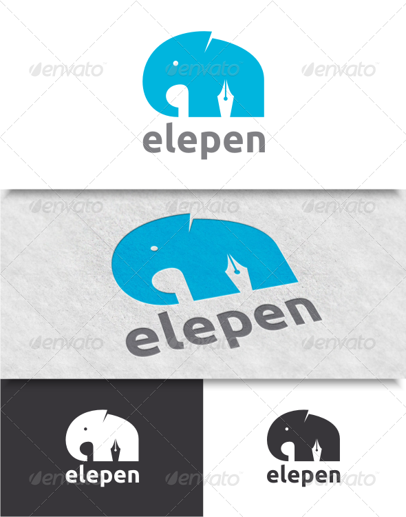 GraphicRiver Elephant Logo 8056041