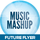Music Mashup Futuristic Flyer Design - GraphicRiver Item for Sale