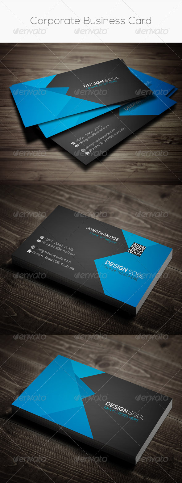 GraphicRiver Corporate Business Card 8057360