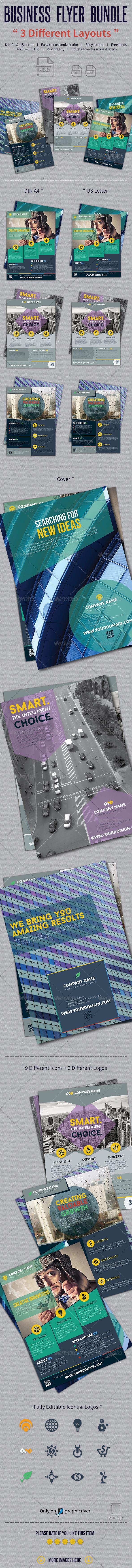 GraphicRiver Business Flyer Bundle 7955888