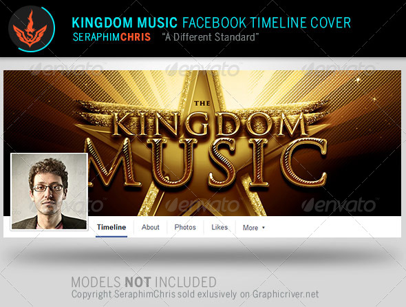 GraphicRiver Kingdom Music Facebook Timeline Cover Template 8057488