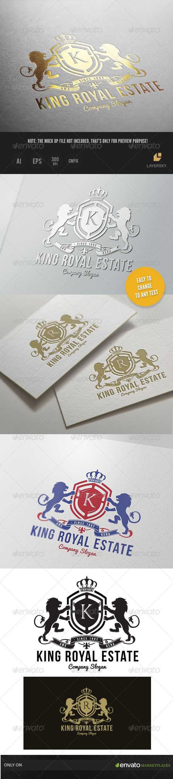 GraphicRiver King Royal Estate II 8057558