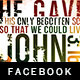 John 3:16  Facebook Timeline Cover Template - GraphicRiver Item for Sale