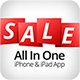 SALE - All In One - iPhone & iPad App With PayPal - CodeCanyon Item for Sale