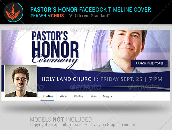 GraphicRiver Pastor s Honor Facebook Timeline Cover Template 8057995