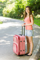 Attractive woman traveling - PhotoDune Item for Sale