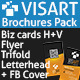 VISART Brochures Pack Templates - GraphicRiver Item for Sale