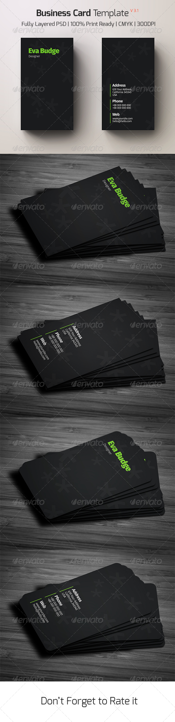 GraphicRiver Business Card Template v 3.1 8058138