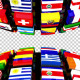 Country Flags Globe Double - VideoHive Item for Sale