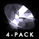 Brilliant Diamond - Pack 4 Loops - VideoHive Item for Sale