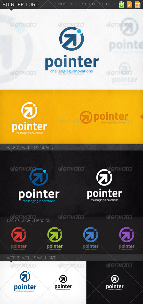 GraphicRiver Pointer Logo 8058155