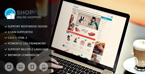 ThemeForest Leo Shopping Prestashop Theme 8058347