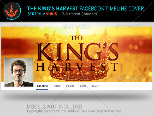 GraphicRiver The King s Harvest Facebook Timeline Template 8058380
