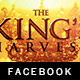 The King's Harvest Facebook Timeline Template - GraphicRiver Item for Sale