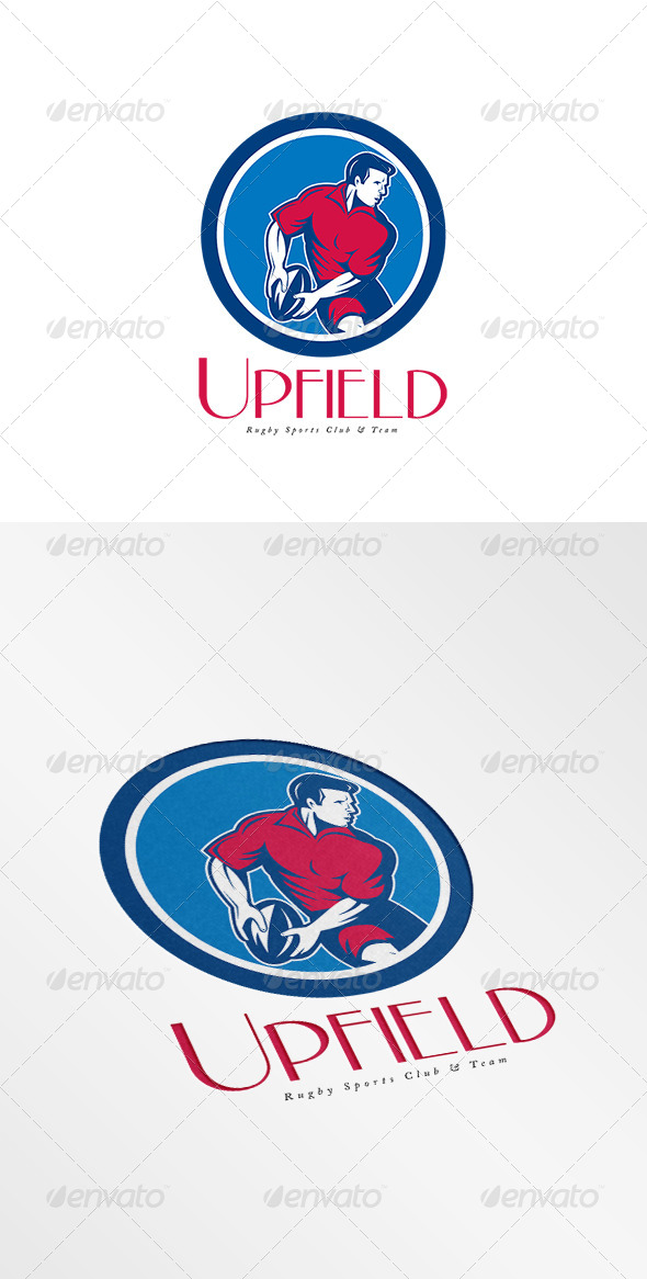 GraphicRiver Upfield Rugby Sports Club Logo 8058418