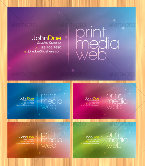 GraphicRiver Modern Business Card 34257