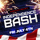 Independence Bash Flyer - GraphicRiver Item for Sale