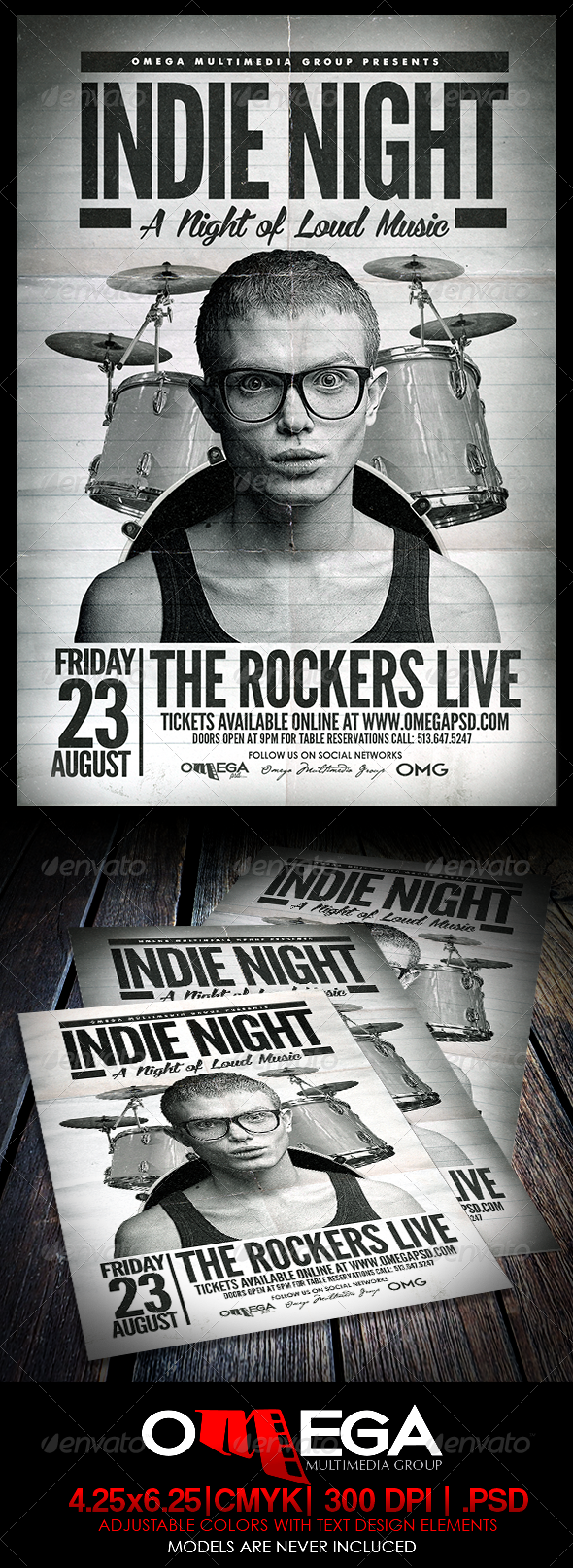 GraphicRiver Indie Night 8058212