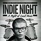 Indie Night - GraphicRiver Item for Sale