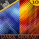 Abstract Dark Mosaic Backgrounds - GraphicRiver Item for Sale