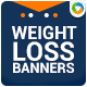 Weight Loss Banners - GraphicRiver Item for Sale