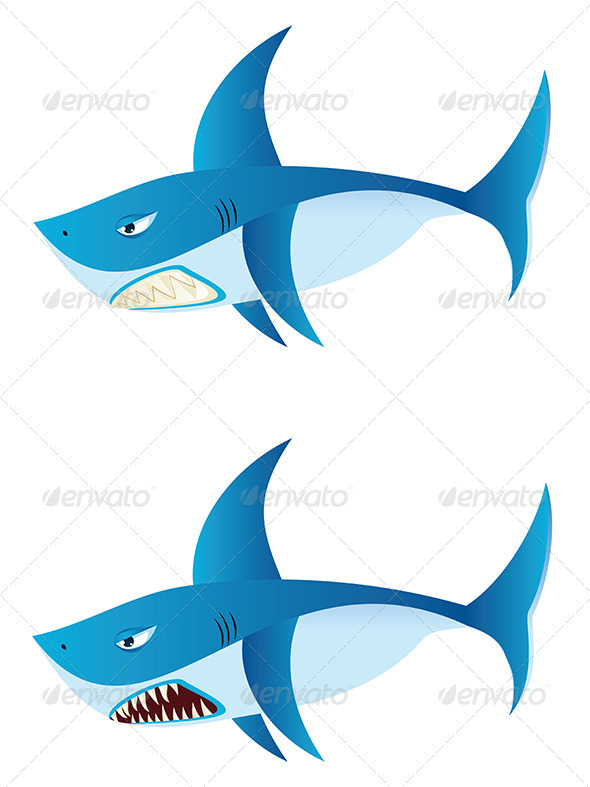 GraphicRiver Great White Shark 8059280
