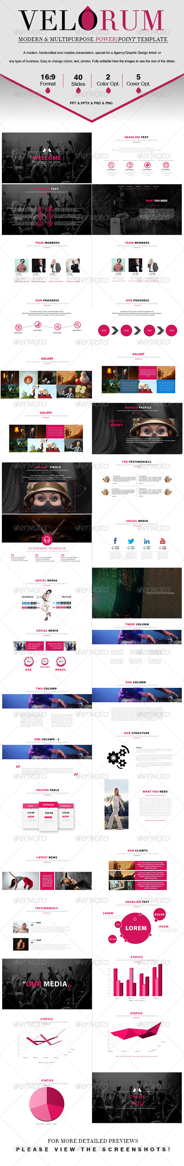 GraphicRiver Velorum A Multipurpose Powerpoint Template 7928590