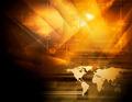 Bright orange technology background - PhotoDune Item for Sale