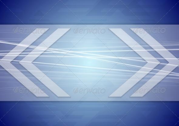 GraphicRiver Tech Arrows Design 8059666