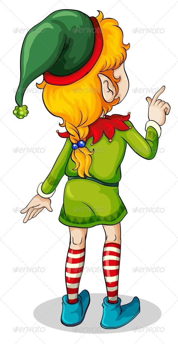 GraphicRiver Christmas Elf 8059705