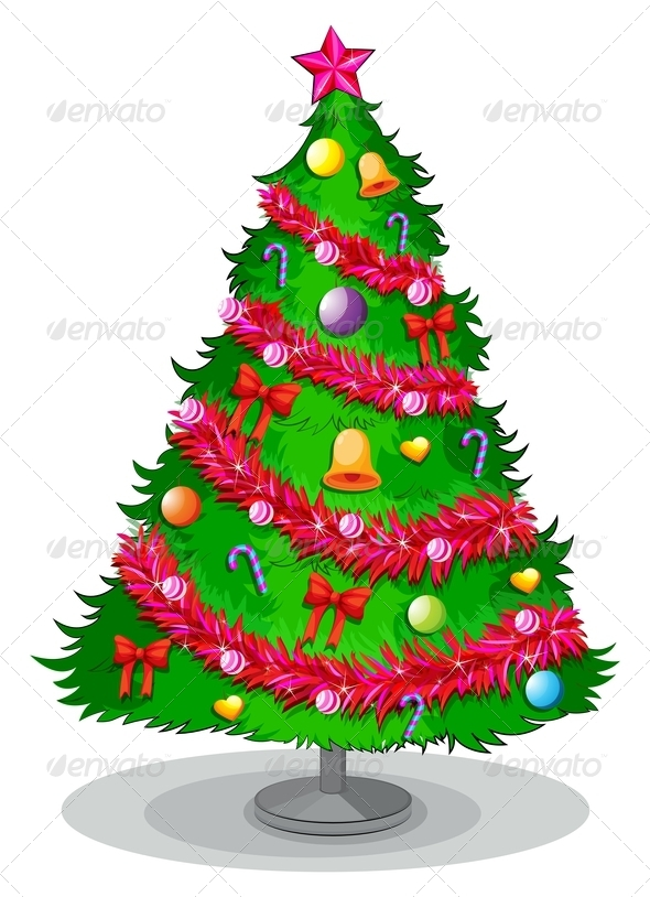 GraphicRiver Christmas Tree 8059744
