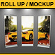 Roll Up - Mockup - GraphicRiver Item for Sale