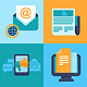 Vector email marketing concepts - flat icons - GraphicRiver Item for Sale