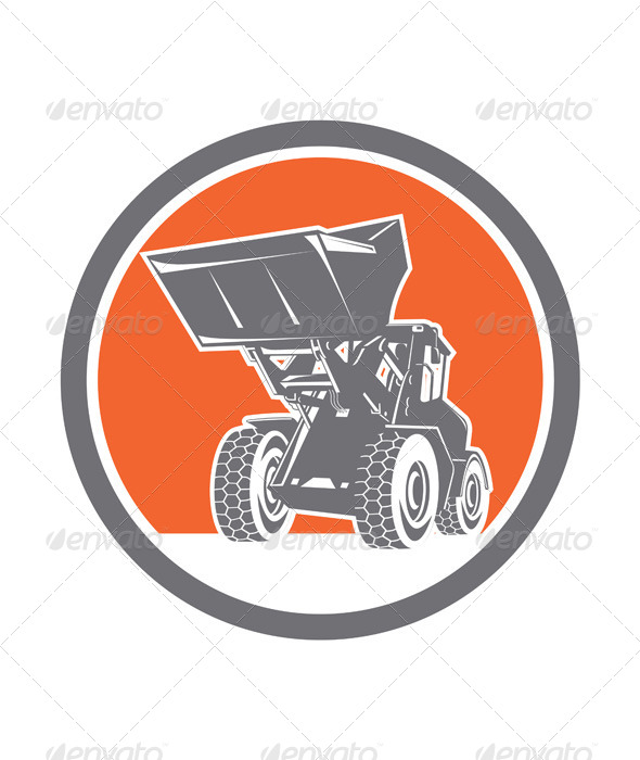 GraphicRiver Front End Loader Circle 8060598