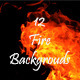 12 Fire Backgounds - GraphicRiver Item for Sale