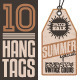 Summer Sales Related Hang Tags - GraphicRiver Item for Sale