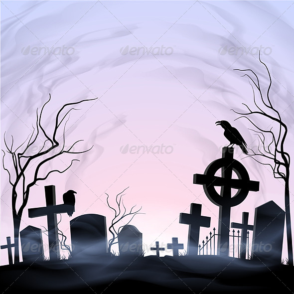 GraphicRiver Graveyard 8061097
