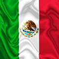 Mexico Silk Flag - PhotoDune Item for Sale