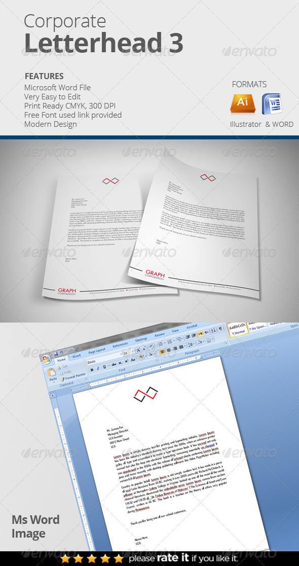GraphicRiver Corporate Letterhead 2 8061325