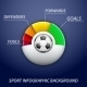 Soccer Game Statistics Concept - GraphicRiver Item for Sale