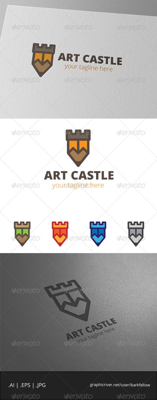 GraphicRiver Art Castle Logo 8061373