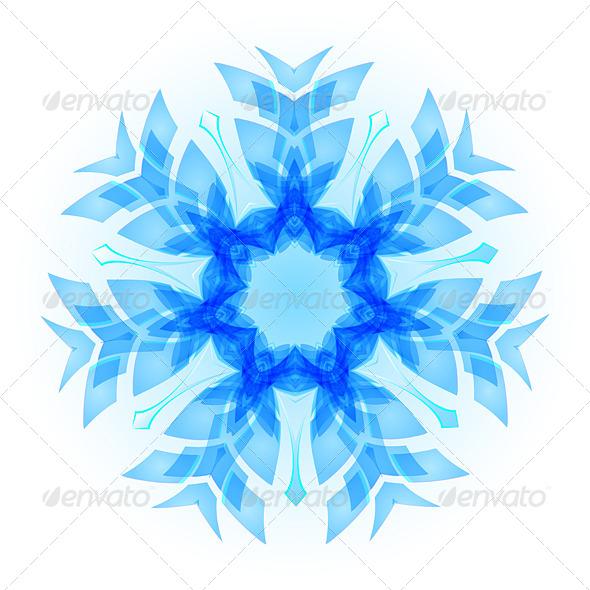 GraphicRiver Snowflake 8061401
