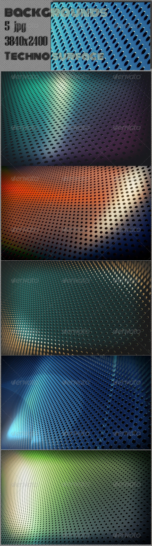 GraphicRiver Techno Surface Web backgrounds 8061412