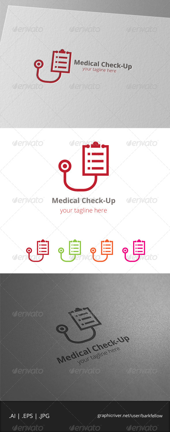 GraphicRiver Medical Check-Up Logo 8061448