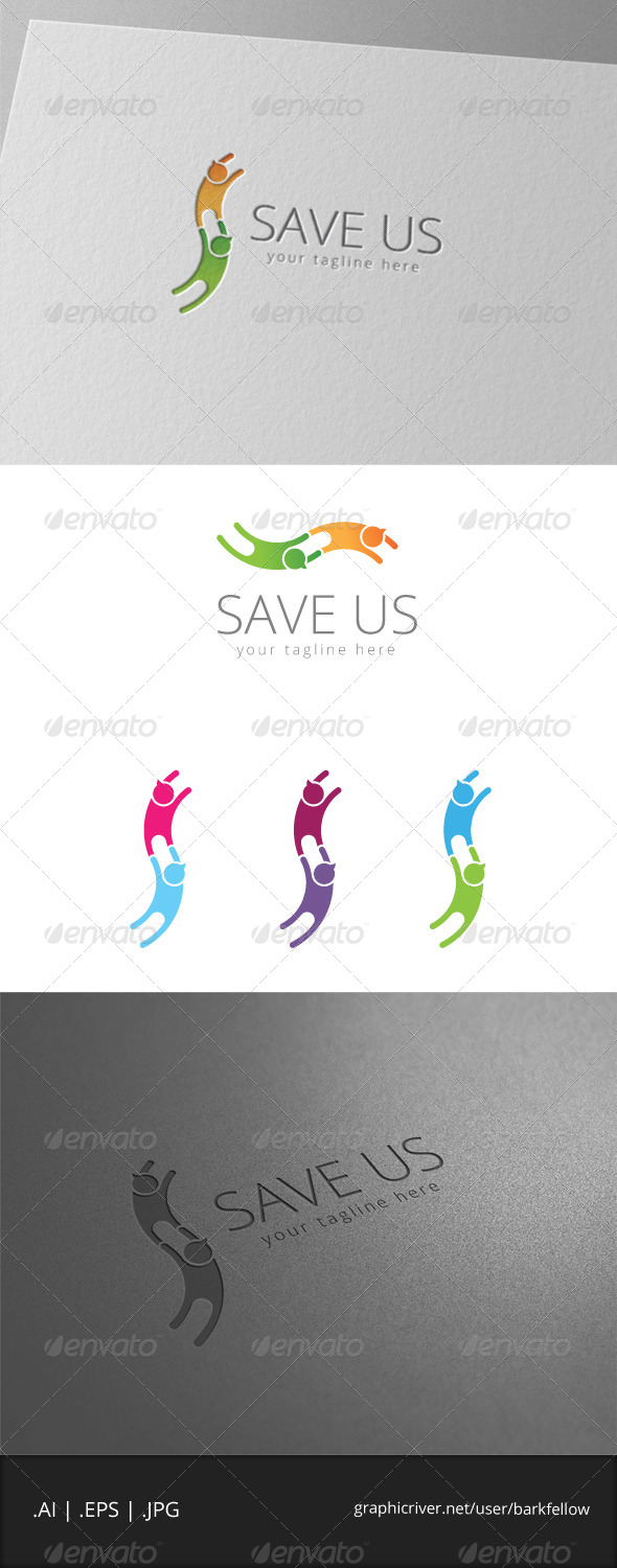 GraphicRiver Social Worker Logo 8061482