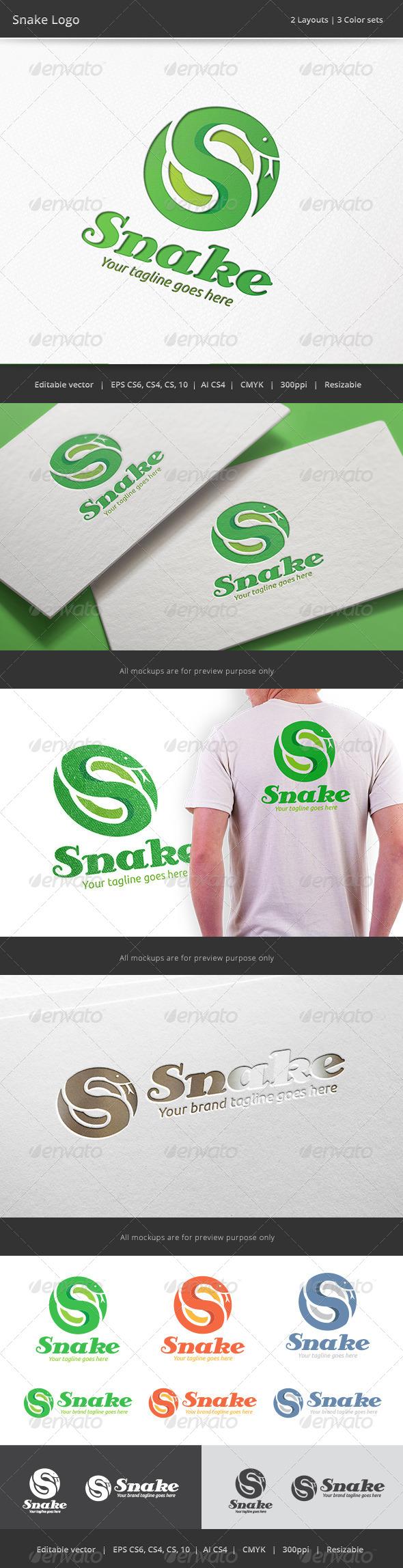 GraphicRiver Snake Logo 8061590