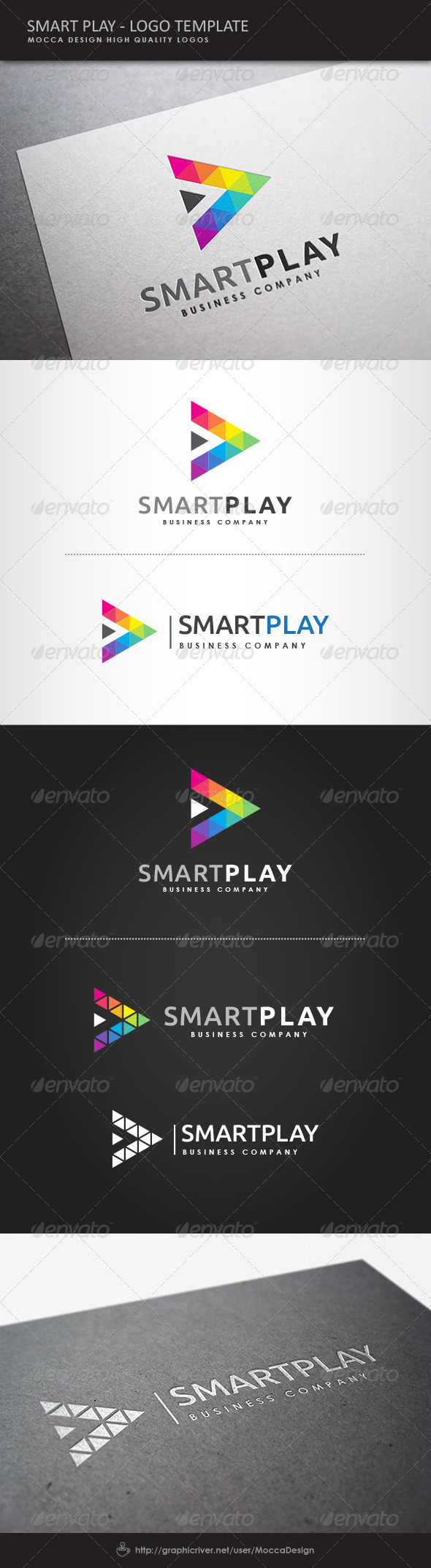 GraphicRiver Smart Play Logo 8061604