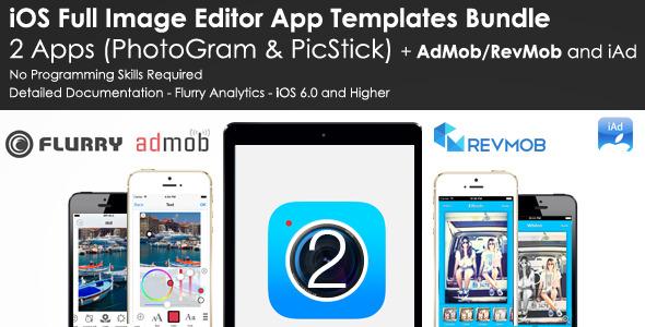 CodeCanyon Image Editor App Templates Bundle AdMob RevMob 8061767