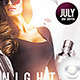 Flyer Another Night Sexy - GraphicRiver Item for Sale